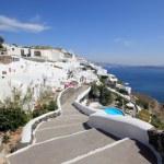 View of Fira town - Santorini Greece — Stock Photo #9253847
