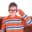 Stock Photo: Child wearing eyeglasses