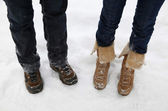 Botas de nieve — Foto de Stock