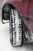 Neumático de invierno — Foto de Stock