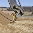 Backhoe scoop — Stock Photo