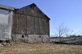 Staré opotřebované stodola v pensylvánii — Stock fotografie