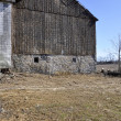 Old worn barn — Stock Photo