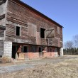Stock Photo: Old dilipidated barn