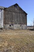 Old worn barn — Stock Photo
