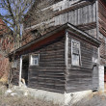 Old timeworn barn — Stock Photo