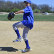 Right handed baseball pitcher - Photo