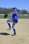 Lanceur droitier de baseball — Photo