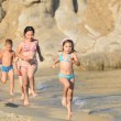 Running Children on the Beach — Stock Photo #8339172