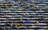 Frost on Roof — Stock Photo