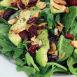Spinach and Avocado Salad — Stock Photo