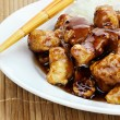 General Tso's Chicken - Stock Photo