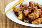 General Tso's Chicken — Stock Photo