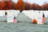 национальное кладбище — Стоковое фото