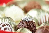 Verlobungsring — Stockfoto