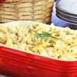 Creamy Tuna and Pasta Dinner - Stock Photo
