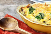 Cheesy Broccoli Casserole — Stock Photo