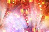 Abstrakt färgstarka bakgrund som representerar disco galenskap — Stockfoto