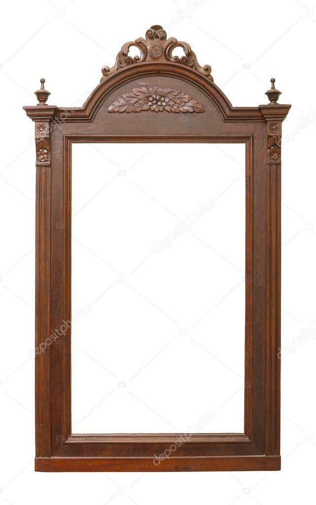sch nen und alten holzrahmen f r spiegel mit schnitzereien. Black Bedroom Furniture Sets. Home Design Ideas