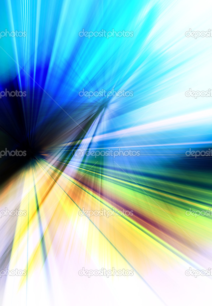 Abstract colorful background representing speed and motion — Stock Photo #8712570