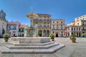 Plaza de San Francisco in Havana — Stock Photo