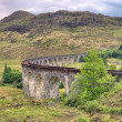 Glenfinnan Viaduct in Scotland — Stock Photo