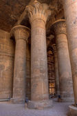 Magnificient tall columns in Khnum temple,Egypt — Stock Photo