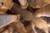 Magnificent columns in Khnum temple,Egypt — Stock Photo