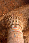 Capital of a large column in Esna, Egypt — Stock Photo