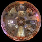 Achthoek in de kathedraal van ely — Stockfoto
