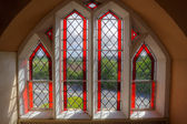 Stained-glass window — Stockfoto