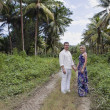 Couple wandering in Jamaica — Stock Photo #9073565
