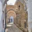 Narrow street in Kairouan medina — Stock Photo