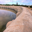 Aghlabid Basins in Kairouan, Tunisia - Stock Photo