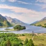 Beautiful landscape of Loch Shiel, Scotland — Stock Photo