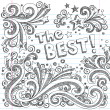 Royalty-Free Stock Vector Image: The Best Sketchy Doodles Design Elements Vector Set