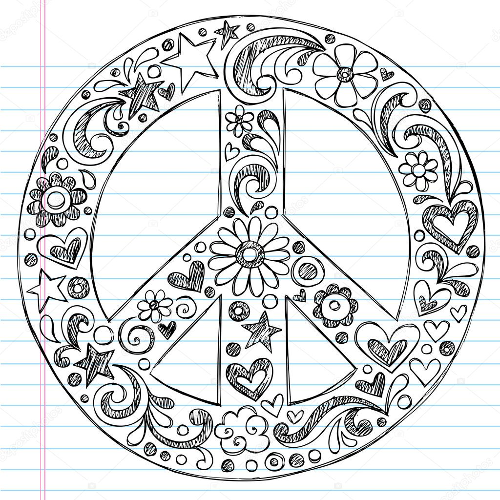 Peace sign Print. Color. Fun! Free printables, coloring pages, crafts Peace sign pictures to print and color