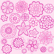 Seamless Repeat Pattern of Delicate Springtime Flowers — Stock Vector #9127167