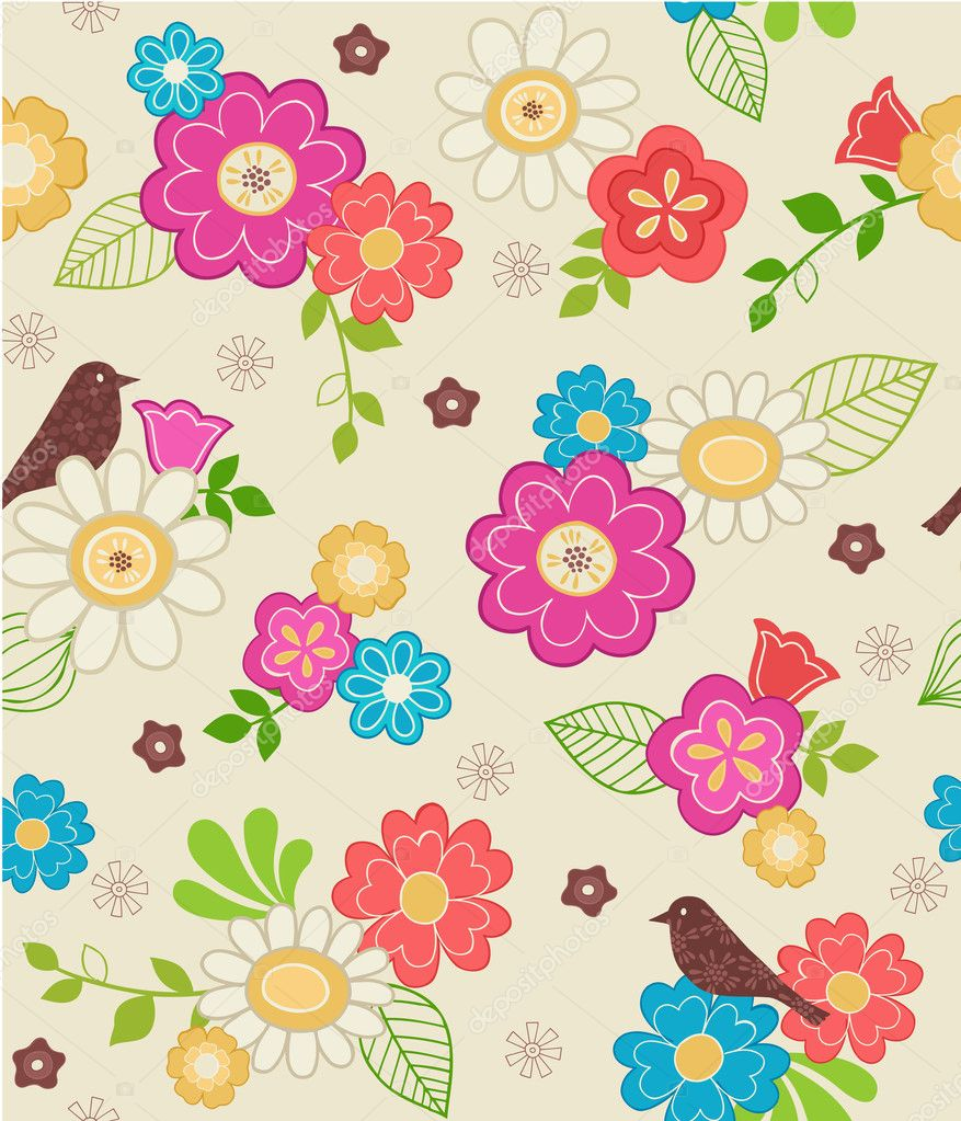 100 Бумажные цветочки для скрапа