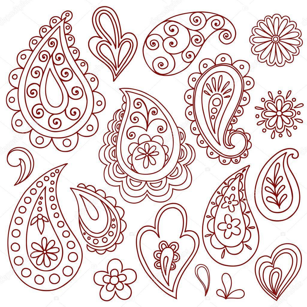Henna Flower Designs