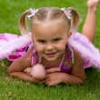 Stock Photo: Pretty Little Girl