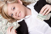 Money Woman — Stockfoto