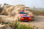 Championship of Ukraine Alexandrov rally — Stock Photo