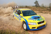 Campionato di rally alexandrov ucraina — Foto Stock