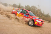 "The 5-th stage of the championship of Ukraine ""Alexandrov Rally"" — Stock Photo"