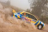 "La etapa 5-th del campeonato de ucrania ""rally alexandrov"" — Foto de Stock"