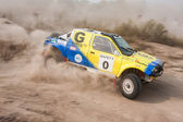 The 5-th stage of the championship of Ukraine Alexandrov Rally — Stockfoto