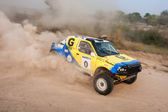 "The 5-th stage of the championship of Ukraine ""Alexandrov Rally"" — Stockfoto"