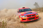 """The 5-th stage of the championship of Ukraine """"Alexandrov Rally"""" — Stockfoto"""