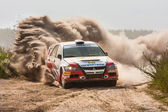 Championship of Ukraine, the rally Kyiv Rus — Stockfoto